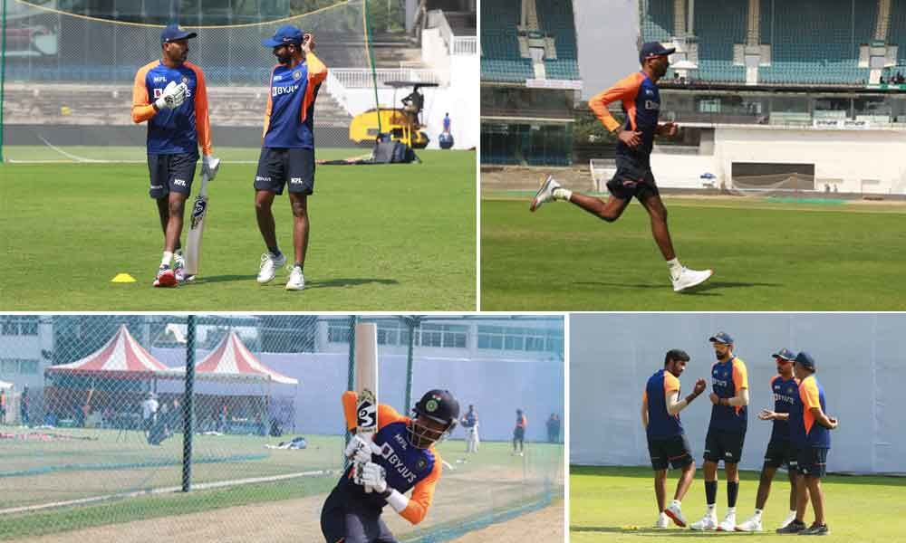 India vs England, 1st Test: Back in red-ball cricket with Team India, says Hardik Pandya as he shares training photos
