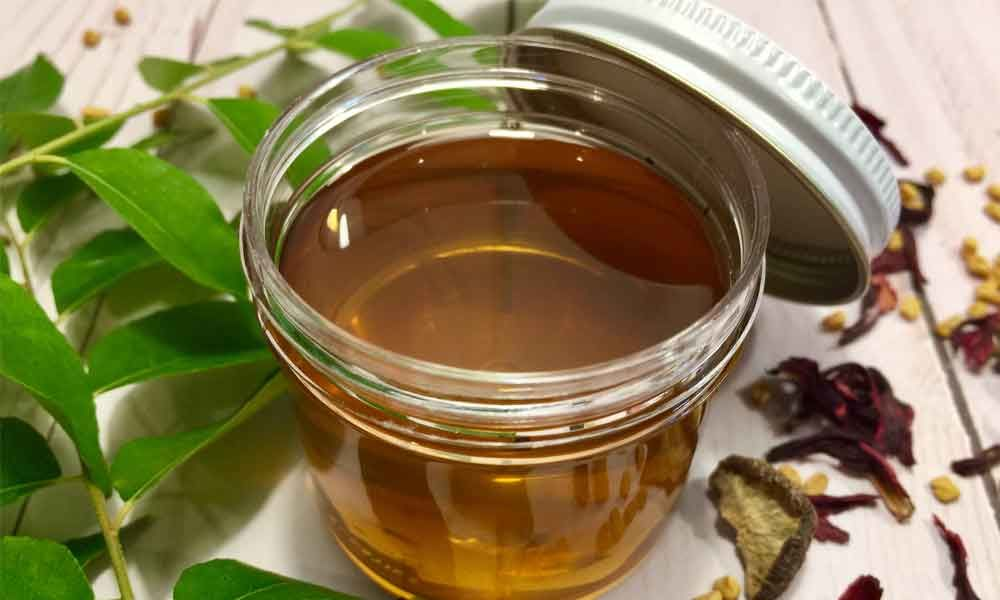 How to make oil for hair at home