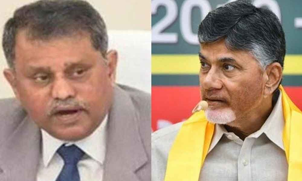 The State Election Commission (SEC) ordered the withdrawal of the copies of election manifesto circulated by TDP