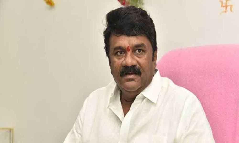 Minister for animal husbandry Talasani Srinivas Yadav
