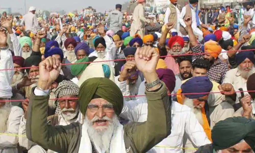 The changing contours of farmers' agitation